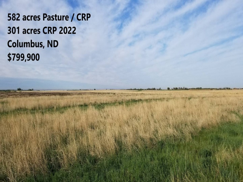 Columbus,North Dakota 58727,Lot,1160