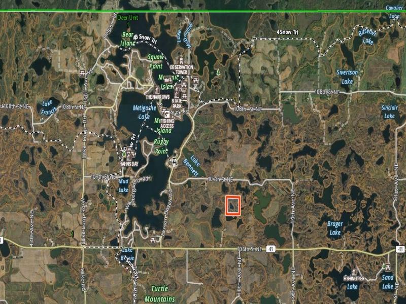 Highway 43,Bottineau,North Dakota 58318,Land,Highway 43,1312