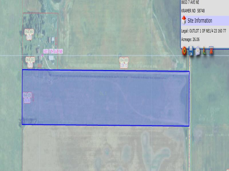 8653 7TH AVE. NE,North Dakota,3 Bedrooms Bedrooms,1 BathroomBathrooms,7TH AVE. NE,1075